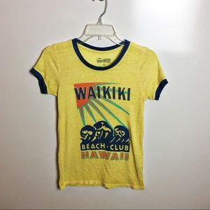 Lucky brand Waikiki burn out tee